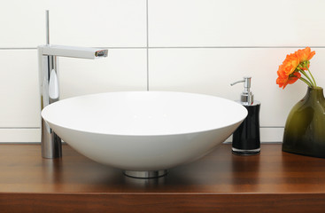 Bathroom vanity basin
