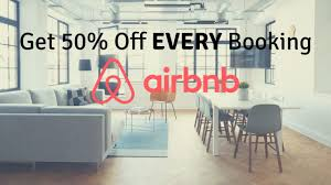 Airbnb 50% Discount